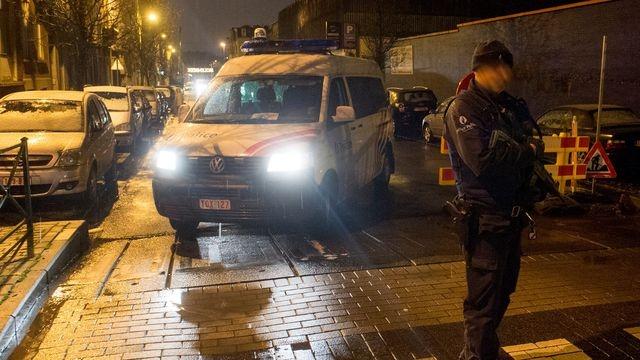 Voiture police Belgique