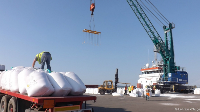 Coopération: la Guinée reçoit un don de 100 mille tonnes d'engrais du Maroc