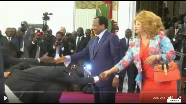 Cameroun: On n'a pas fini rire avec le #Bidoungchallenge des Champions d'Afrique