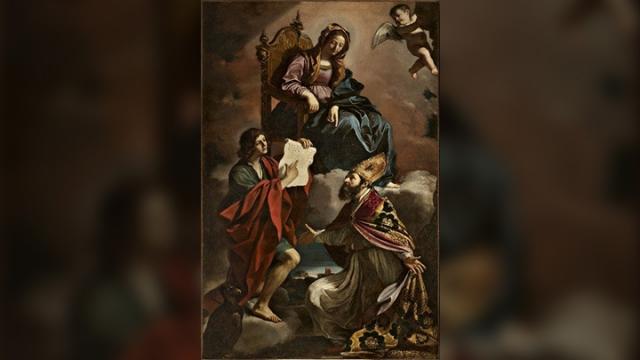 Vierge-Saint-Jean-evangelist