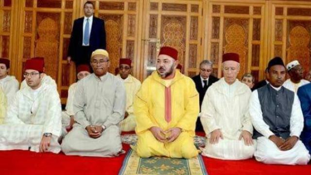 Mohammed VI et Ahmad Ahmad