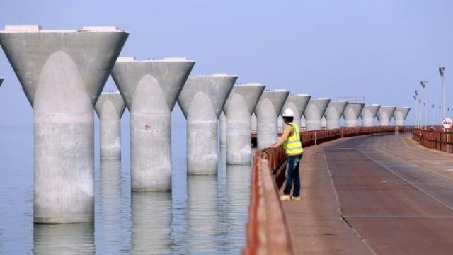 Pont route de la soie