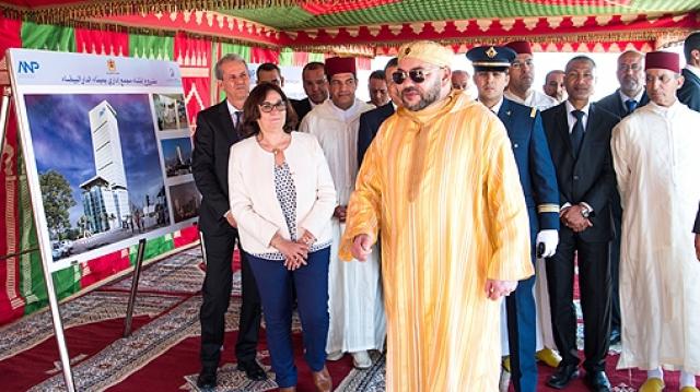 Complexe administratif devant regrouper l'ensemble des intervenants du port de Casablanca