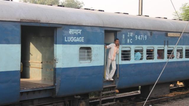 Train indien