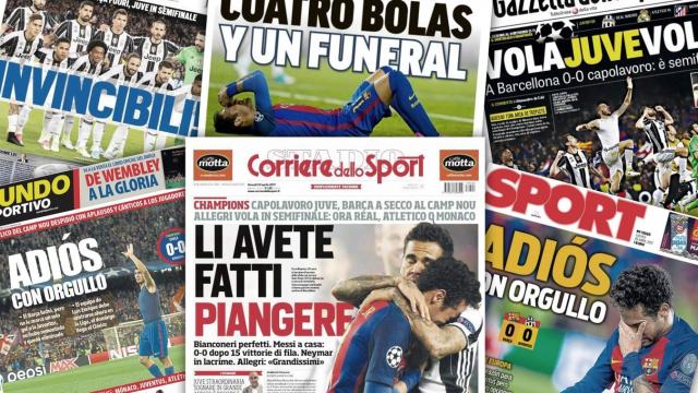Elimination du Barça vue par les médias