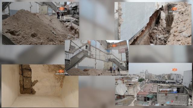 Cover Video -Le360.ma •بالفيديو. عمارتان مهددتان بالسقوط تهدد أرواح سكان بدرب السلطان