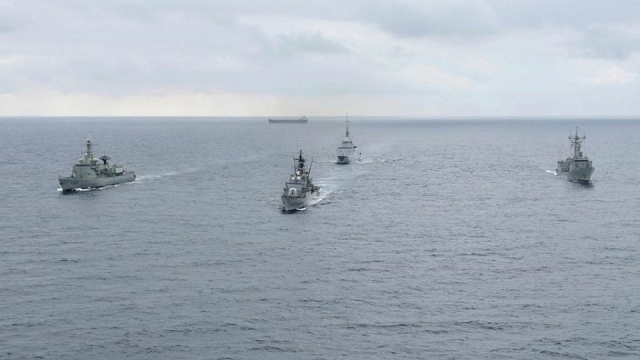 Marine Fregates