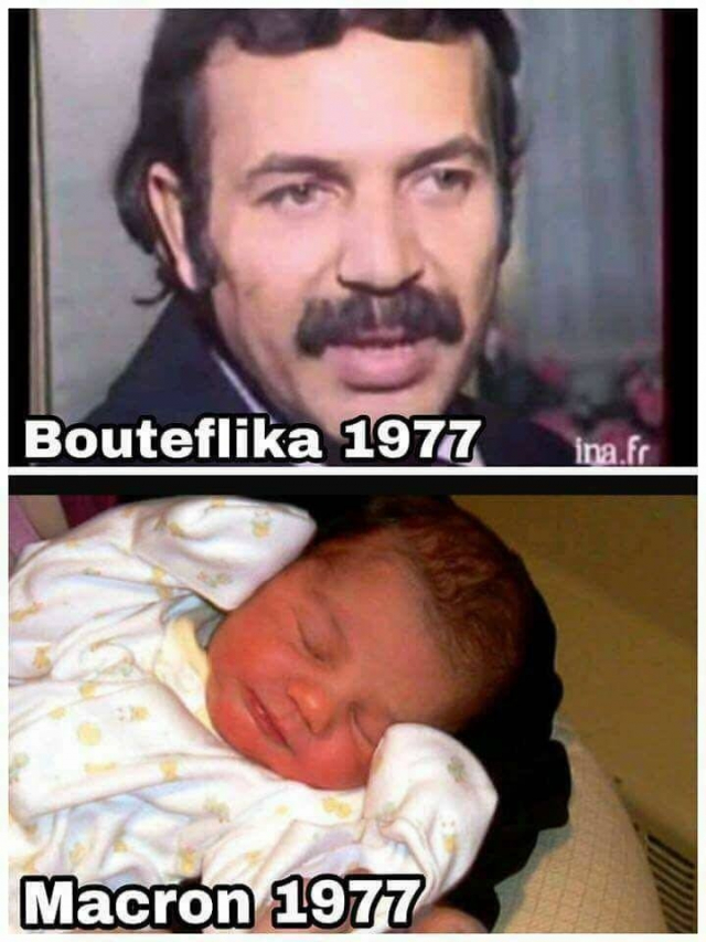 Bouteflika Macron