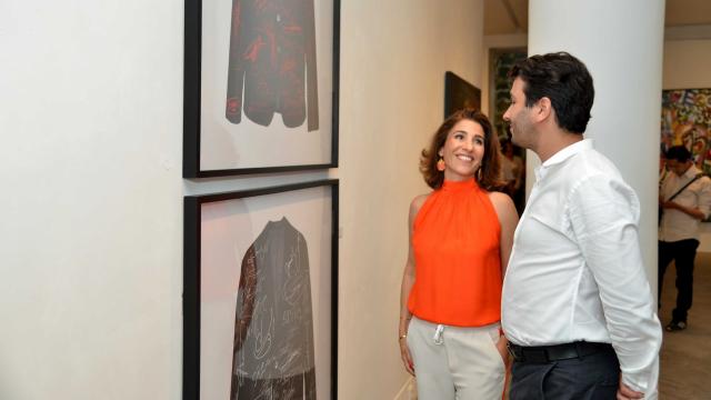 Amor Nadia / Directrice de la galerie d'art L'Atelier 21, Youssef Chraibi Outsourcia