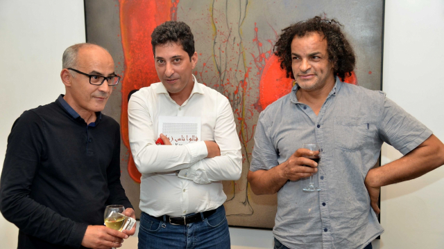 L'artiste Mohamed El Baz, Mohamed Chaoui, l'artiste Mohamed Fariji