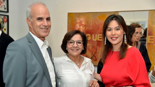 Ali Ababou et son épouse Rabia Ababou, Noelle Bouayad / iloli