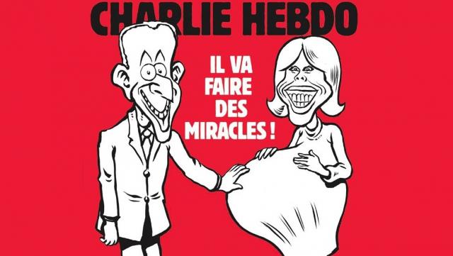 Brigitte Macron Charlie Hebo