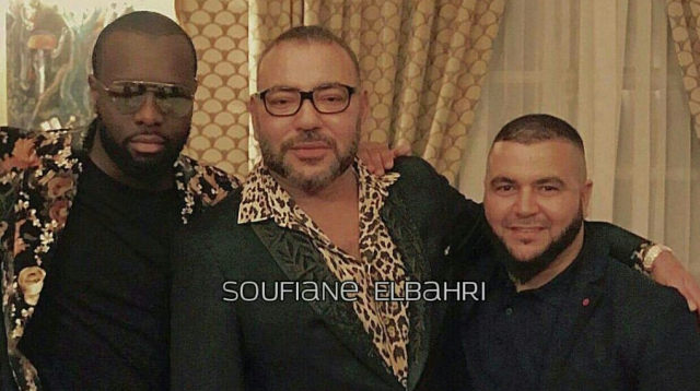 """Maroc: Mohammed VI, Jamel Debbouze, Maître Gims et DJ Snake """"sapés comme jamais"""". Photos"""