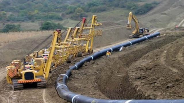 Gazoduc pipeline