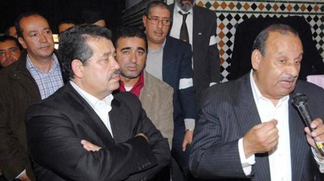El Kafi Cherrat et Hamid Chabat