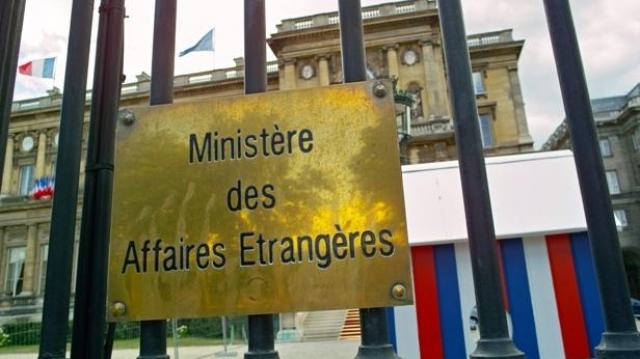 Le ministère français des Affaires étrangères et européennes.