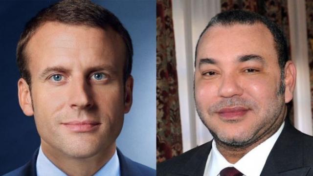 Mohamed VI-Emmanuel Macron