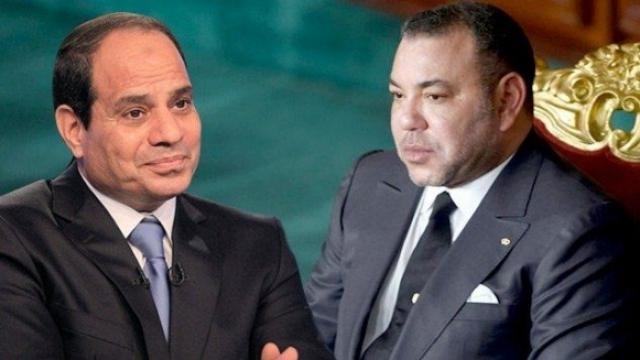 Mohammed VI et Sissi