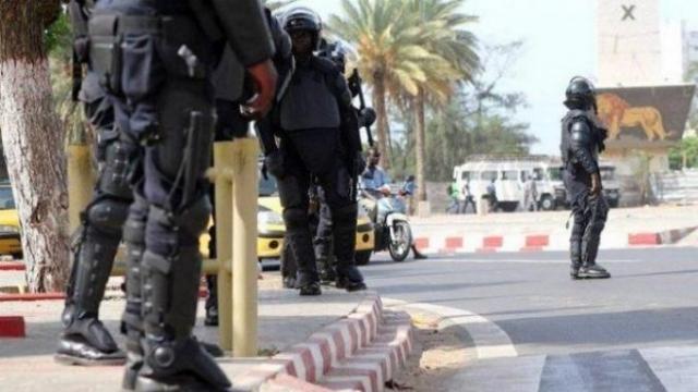 police sénégalaise