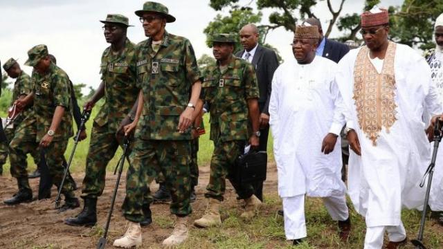 Buhari et armée