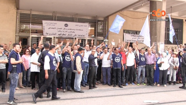 grève cnss