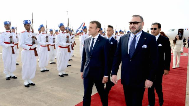 Mohammed VI et Macron