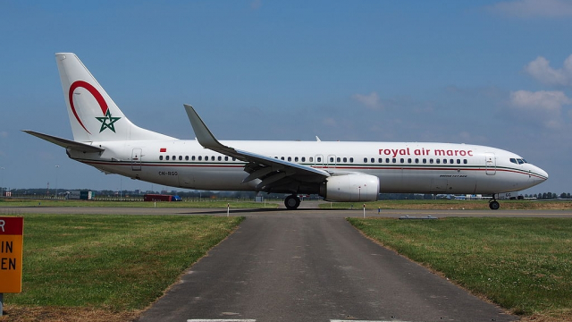 avion la RAM Royal air Maroc