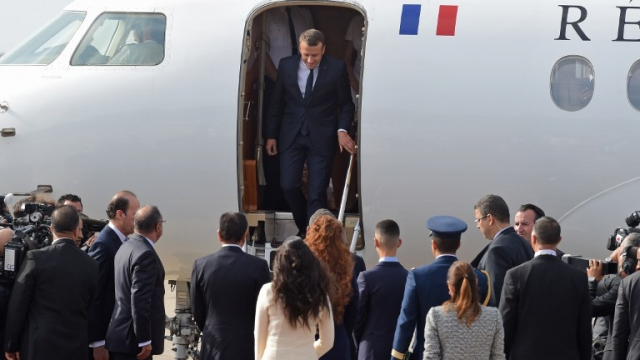 Emmanuel Macron au Maroc