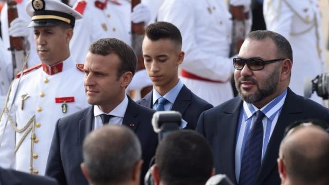 Mohammed VI et Emmanuel Macron