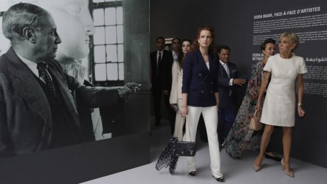Brigitte Macron et la Princesse Lalla Salma