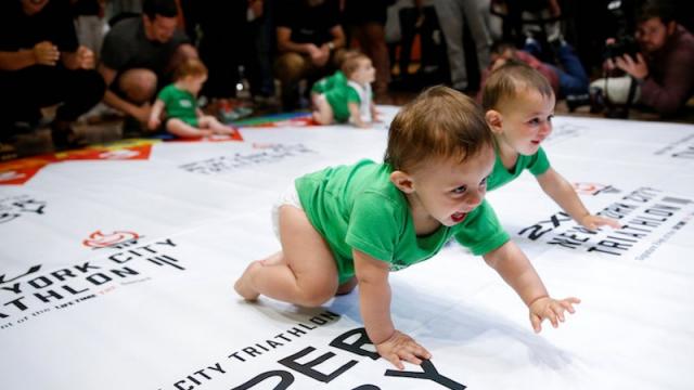 Course pour bébé