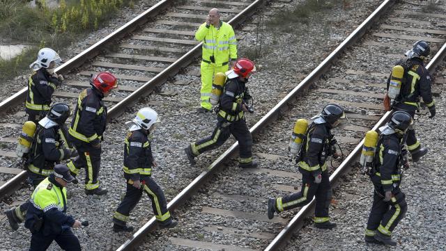 Accident gare Barcelone