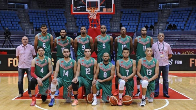 Maroc-équipe nationale de basket