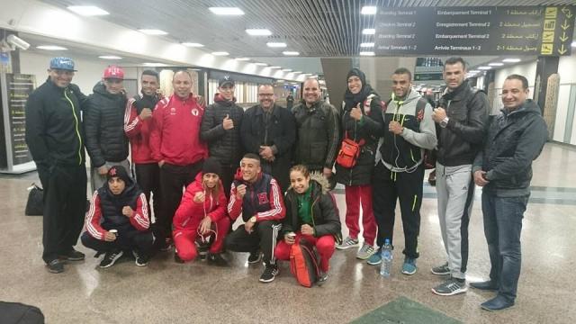 Boxeurs et boxeuses marocains