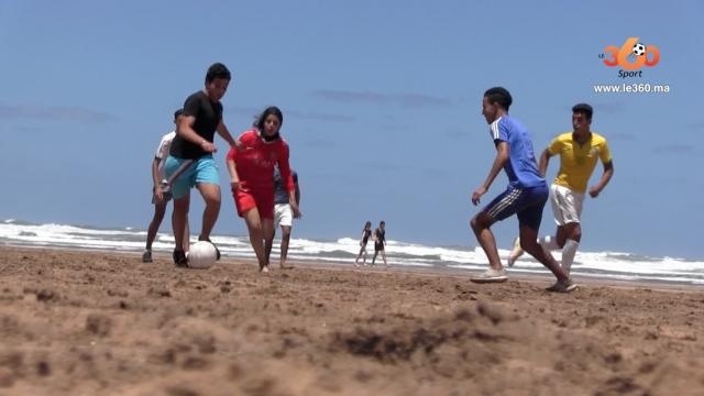 Football-plage-Ain-Diab
