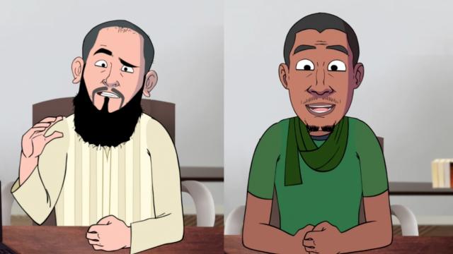 Cover Video -Le360.ma •الشيخ سار والفقيه رضوان التطواني في قبضة لابريكاد