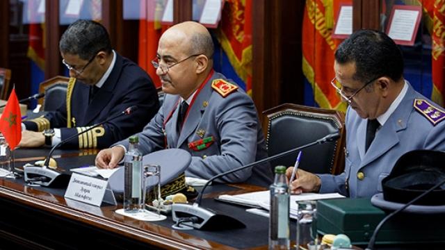 Général Louarak elouarak inspecteur général