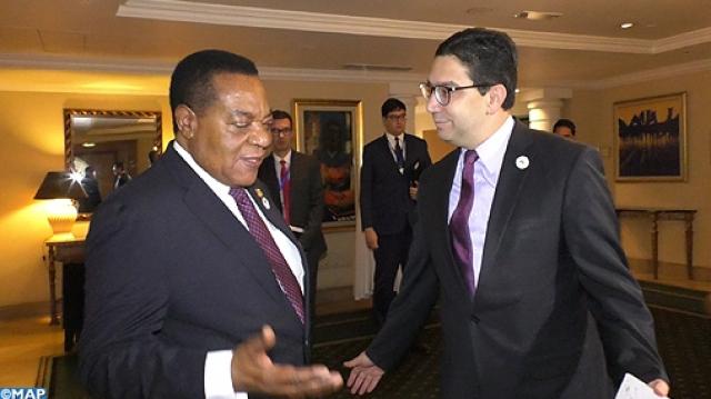 Le ministre tanzanien des Affaires étrangères, Augustine Philip