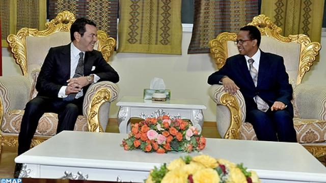 Moulay Rachid à Addis Abeba