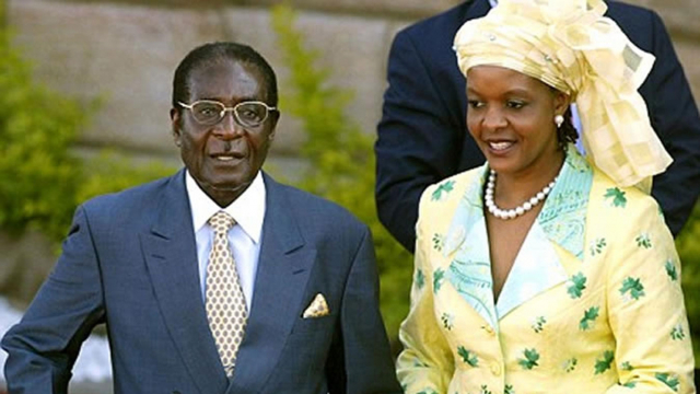 Mugabe et Grace