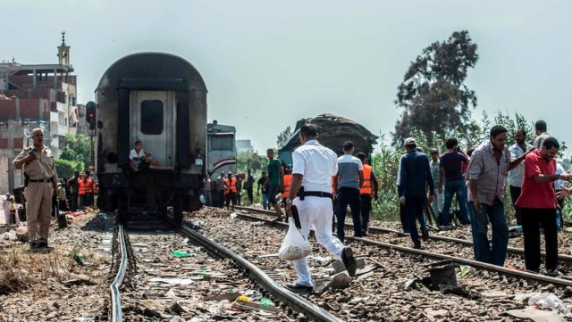 Accident de train Egypte 2
