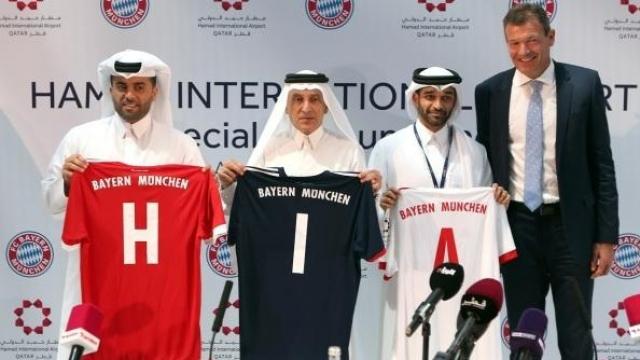 Le Bayern sponnorisé par Hamad International Airport