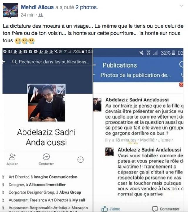 réaction Mehdi Alioua