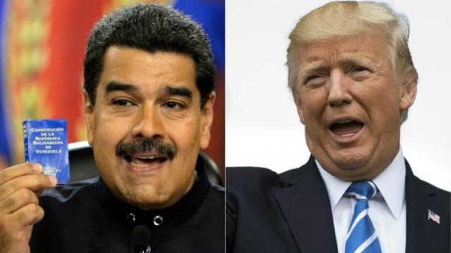 Nicolas Maduro-Donald Trump