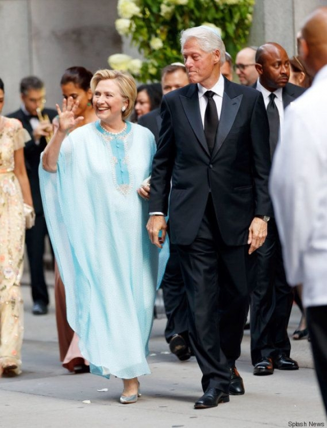 Clinton couple