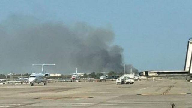 Incendie-aéroport-Barcelone1