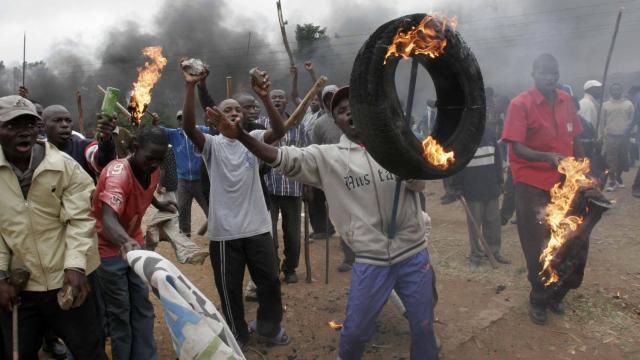 Kenya: au moins 9 personnes tuées suite aux violences post-électorales