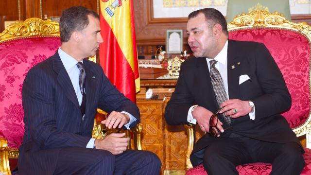 Le roi Mohammed VI avec le roi Felipe VI d'Espagne. Une amitié à toute épreuve.