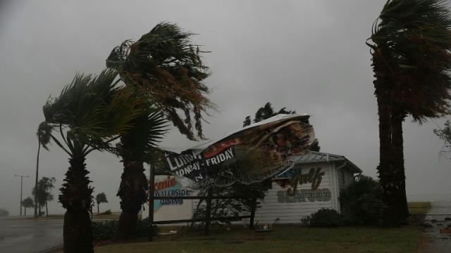 USA-ouragan Harvey