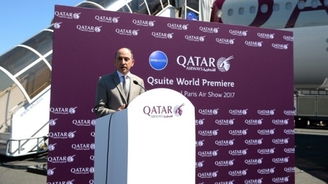 Le PDG de Qatar Airways, Akbar al-Baker